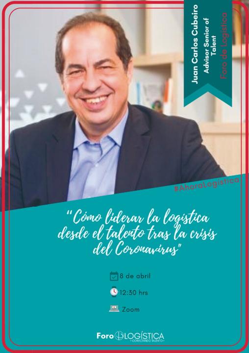 """Webinar:  """"Como Liderar la Logística desde el Talento tras la crisis del Coronavirus"""""""