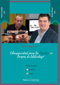 Webinar «Ciberseguridad para la logística en tiempos de teletrabajo»