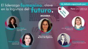 Debate online: El liderazgo femenino, clave en la logística del futuro.