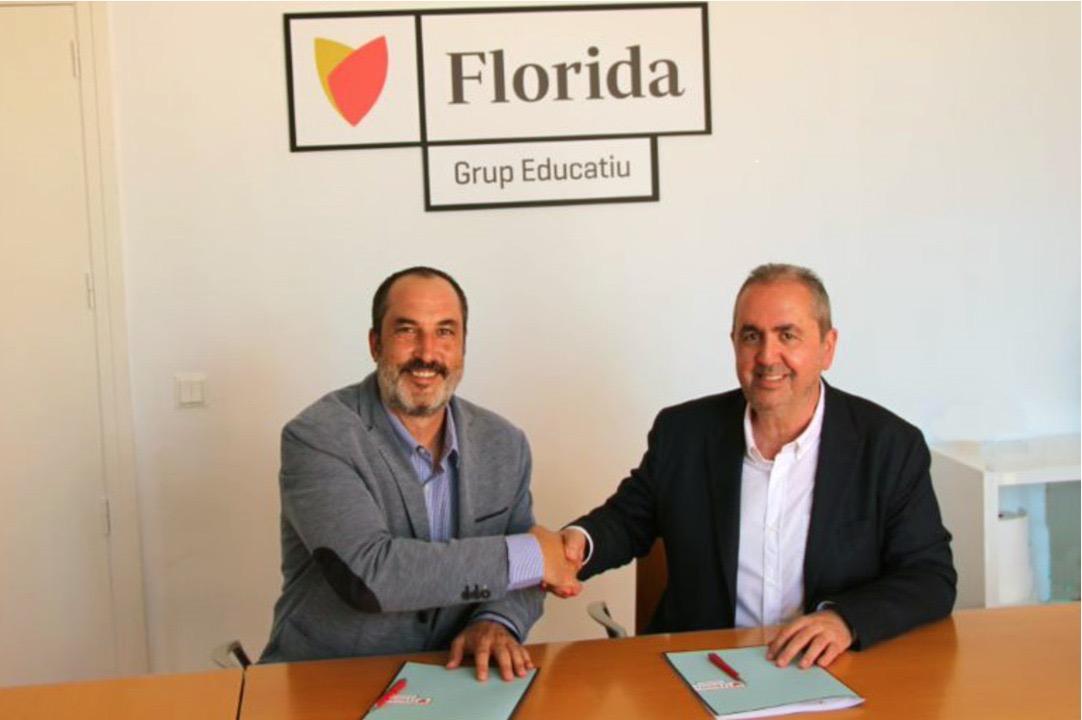 Florida Universitaria firma un convenio con Foro de Logística